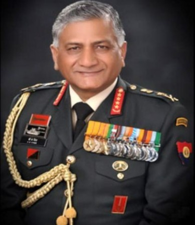 Indian Army General VK Singh