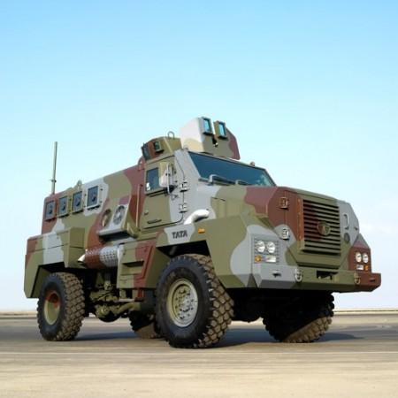 Tata Motors' Mine Protected Vehicle