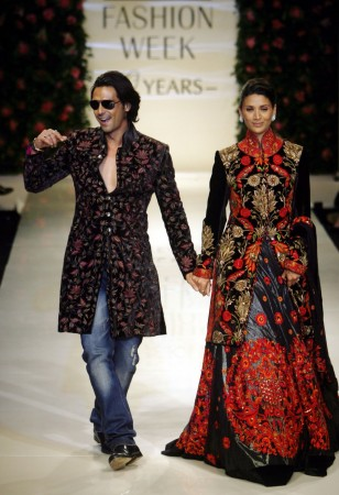 Bollywood actor Arjun Rampal and wife Mehr Jesia