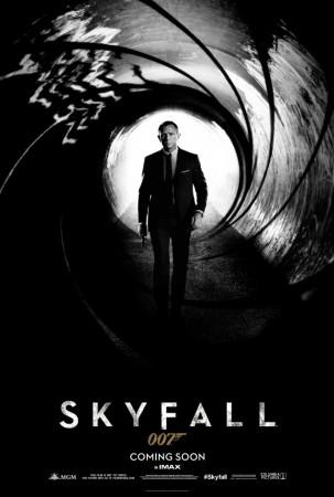 Skyfall teaser poster