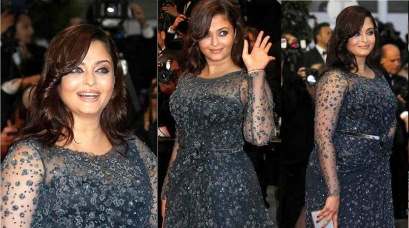 Aishwarya Rai Bachchan Walks the Red Carpet At Cannes 2012 (Facebook)