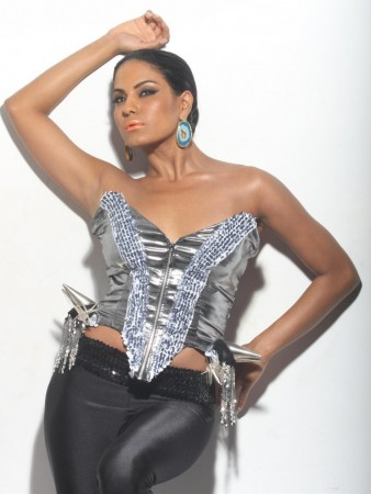 Veena Malik's Sexy Photoshoot for Homosexual Rights. Image: Scribes INC
