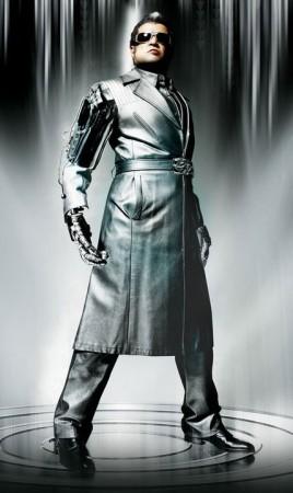 Rajinikanth in 'Endhiran' movie (Endhiran Facebook fan page)