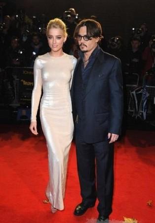 Johnny Depp & Amber Heard are in intense relation