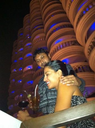 Veena Malik and Hemant Madhukar