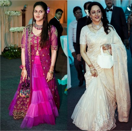 Esha Deol and Bharat Takhtani's reception