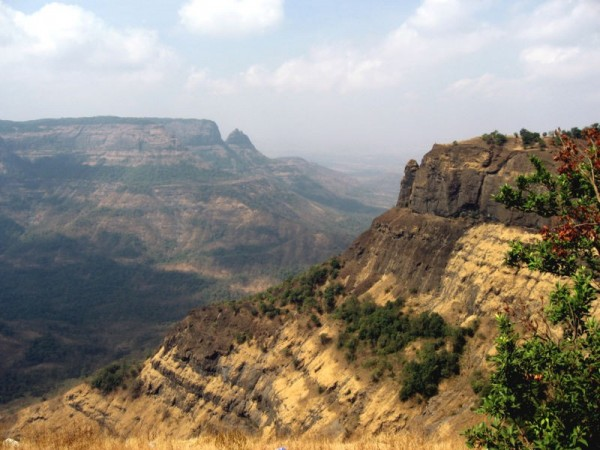 The Western Ghat hills at Matheran in Maharashtra, India