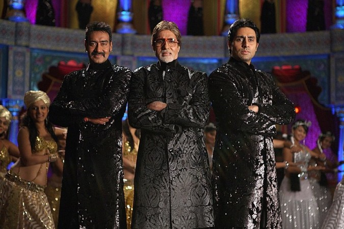 A pic from the sets of 'Bol Bachchan'