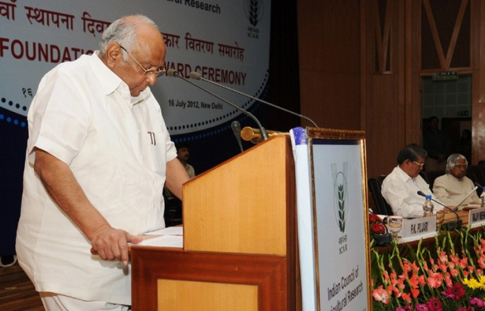 Union Minister for Agriculture and Food Processing Industries, Sharad Pawar