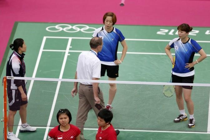 Ha Jung-Eun, Kim Min-Jung, Meiliana Juahari, Greysia Polii