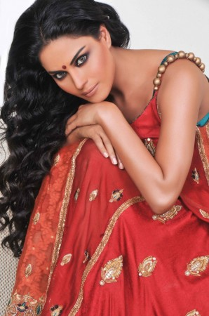 Bollywood actress Veena Malik. Image: Scribes INC