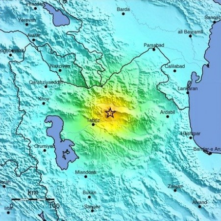 Iran Earthquake Epicenter