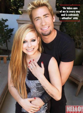 Avril Lavigne and Nickelback Singer Chad Kroeger Are Engaged (Facebook)