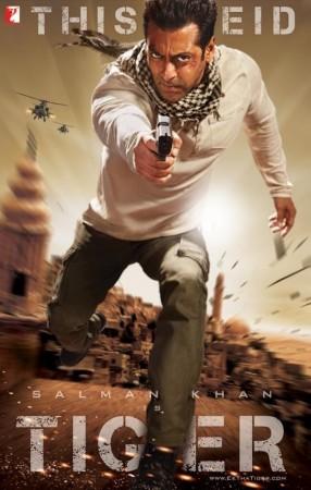 """Ek Tha Tiger' movie poster"