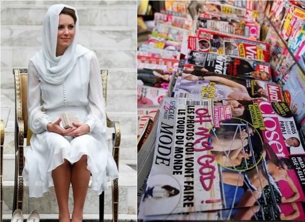 Kate Middleton's Shocking Topless Photos: Duchess of Cambridge Puts a Brave Smile