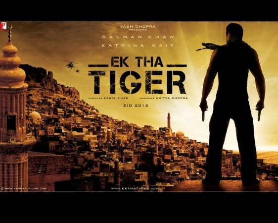 'Ek Tha Tiger' film poster