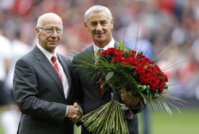 Sir Bobby Charlton, Ian Rush