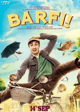 'Barfi' movie poster