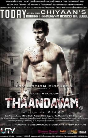 'Thaandavam' movie poster