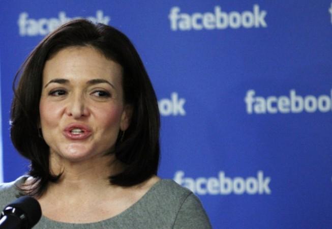 Facebook's COO Sheryl Sandberg