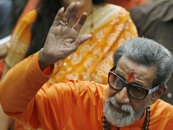 Siv Sena Chief Bal Thackeray