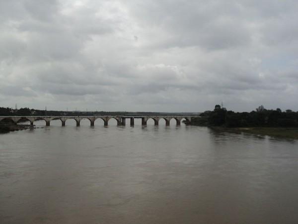 Kaveri in Mysore district Karnataka,