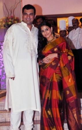 3.Siddharth Roy Kapur and Vidya Balan