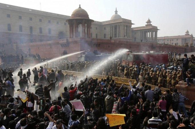 New Delhi gang rape protests