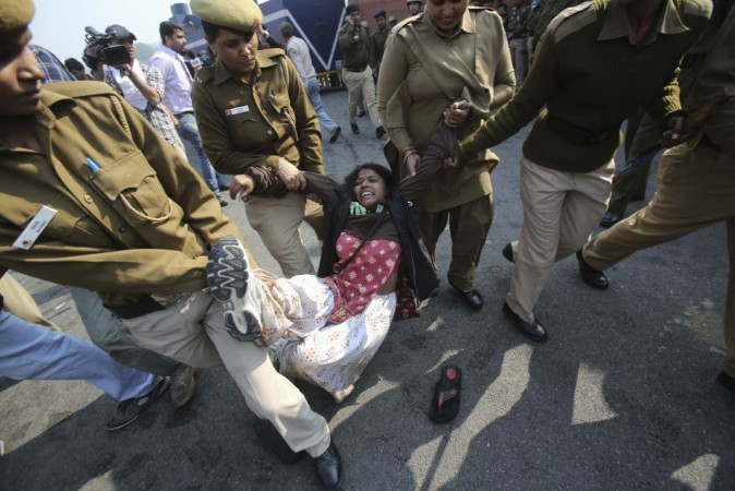 Delhi gang-rape case protest
