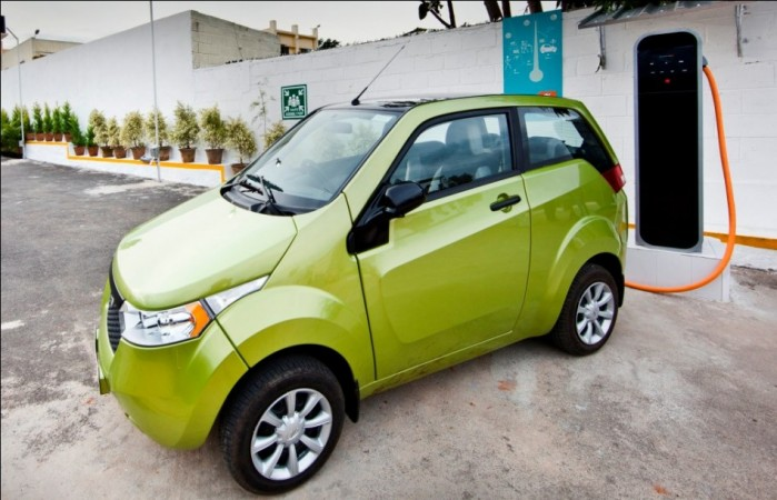 Mahindra's Next Generation Electric Car e2o