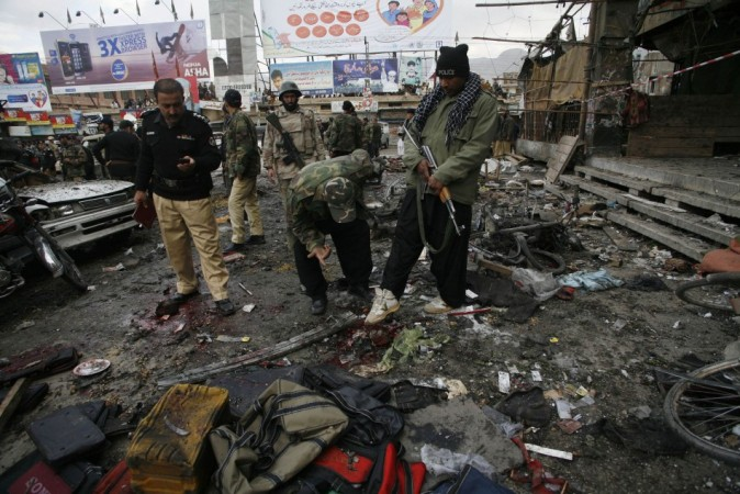 Pakistan Blasts