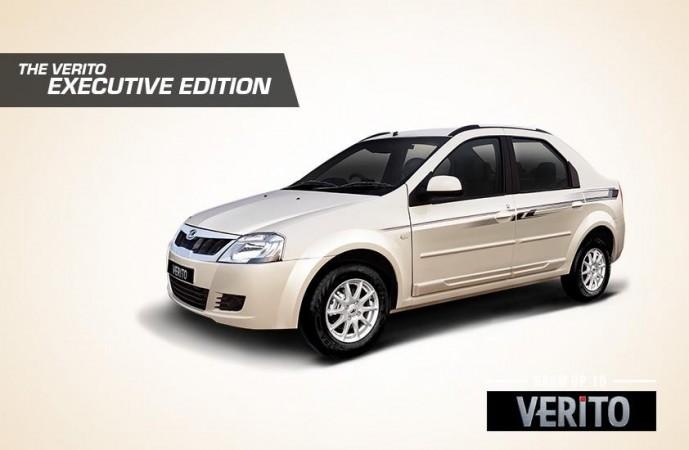 Mahindra & Mahindra Unveils Verito Executive Edition Sedan at  ₹ 7.75 lakh