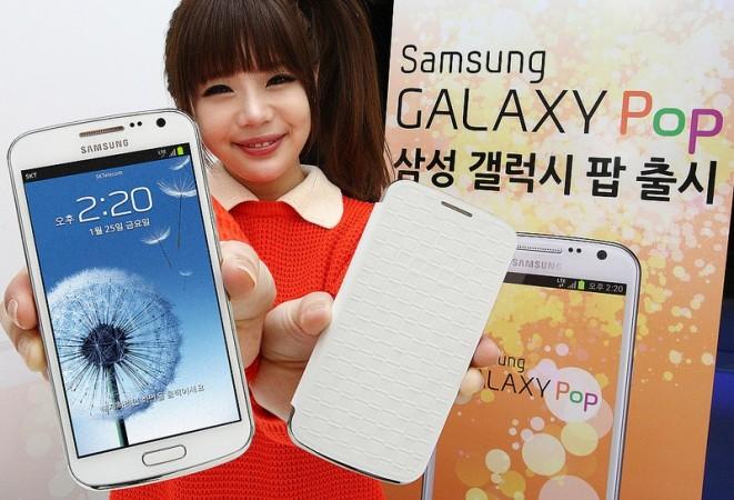Samsung Unveils LG Nexus 4 Rival in Quad-Core, Full HD Galaxy Pop