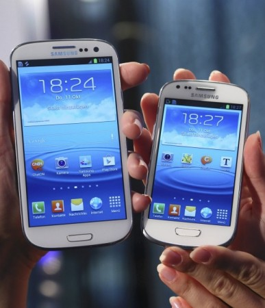 Samsung Galaxy S3 mobile devices
