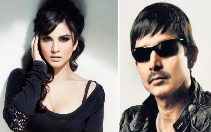 Sunny Leone and Kamaal Khan