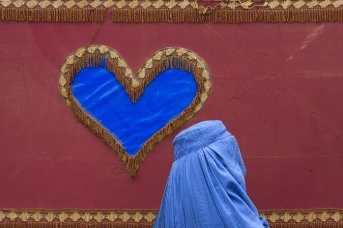 Muslim Woman Heart