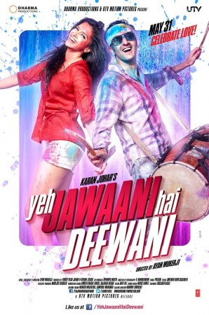 Deepika Padukone and Ranbir Kapoor in Yeh Jawaani Hai Deewani poster (Facebook)