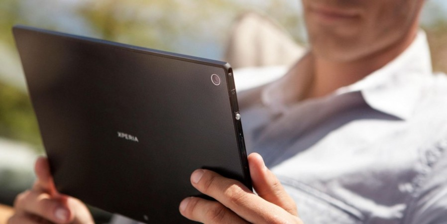 Sony Unveils 'World's Thinnest' Android Waterproof Xperia Tablet Z