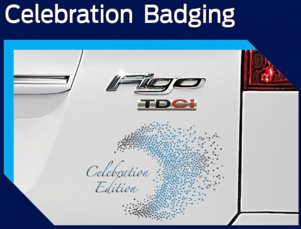 Ford Launches Figo Celebration Edition in India at Rs 4.15 lakh