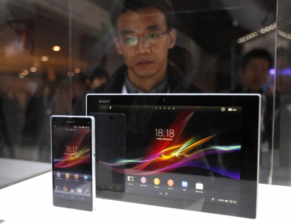 Sony Xperia Z and Xperia Tablet Z