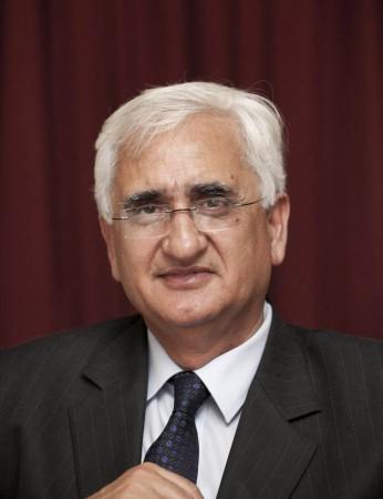Salman Khurshid, India's foreign minister