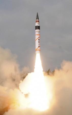 Agni II missile