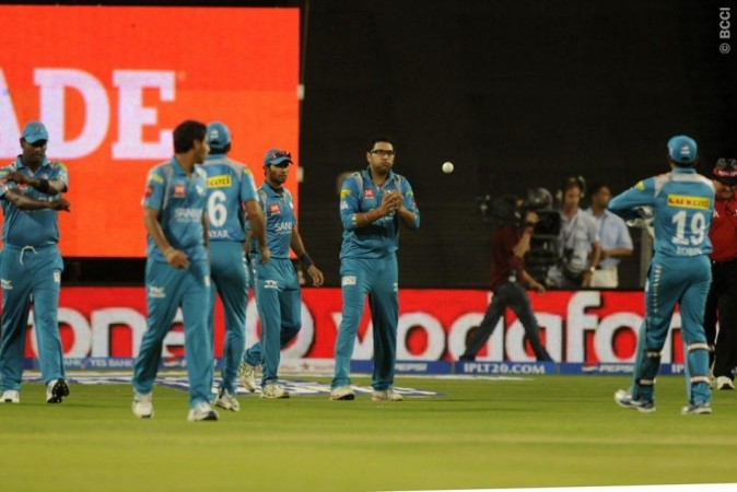 Pune Warriors India Yuvraj