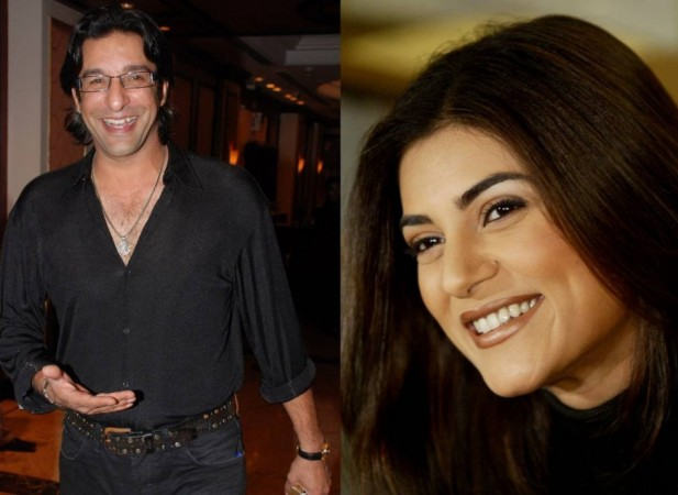 Sushmita Sen and Wasim Akram