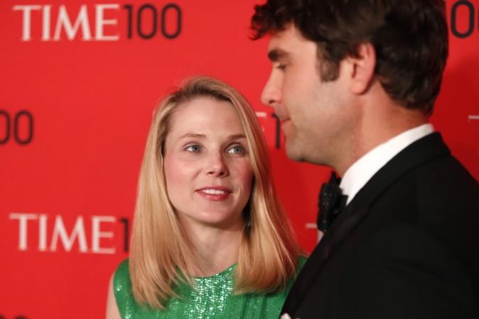President and CEO of Yahoo, Marissa Mayer