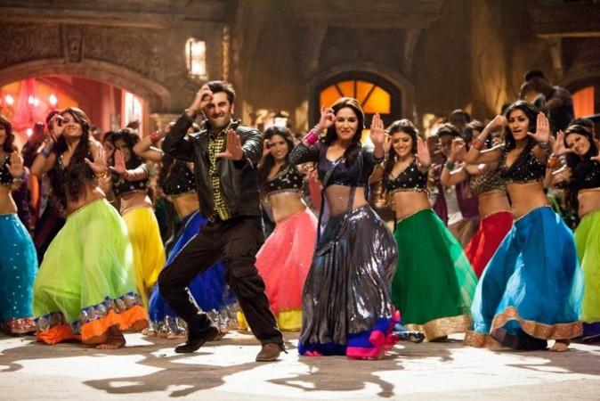 Madhuri Dixit and Ranbir Kapoor in iteam song