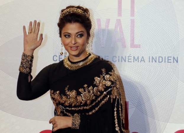 Indian actress Aishwarya Rai poses as she arrives at the evening's gala of the film