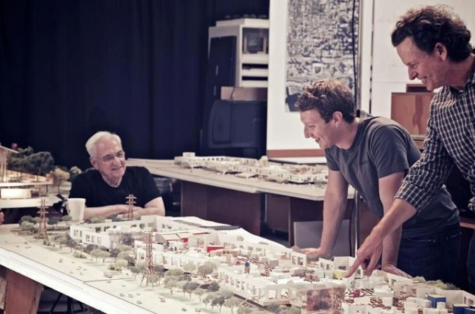 CEO Mark Zuckerberg overseeing the office plans (Credit: Facebook)