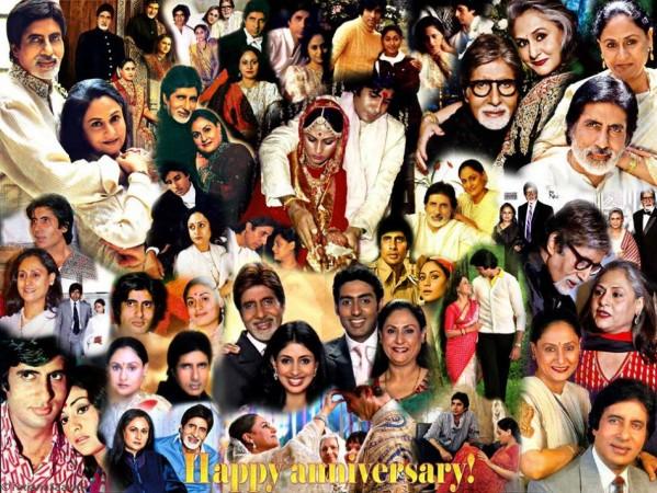Amitabh Bachchan and Jaya Bhaduri Celebrate 40th Anniversary (Amitabh Bachchan/Facebook)