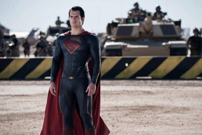 Henry Cavill in Man of Steel (Facebook)